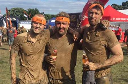 Mudders after