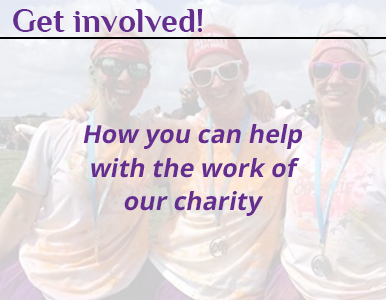 Get involved! How you can help with the work of our charity